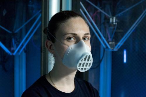 mascherina, stampa 3d