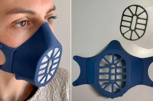 bergamask, mascherina silicone