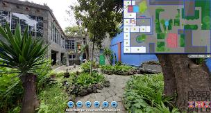 frida kahlo, casa azul, virtual tour, virtuale