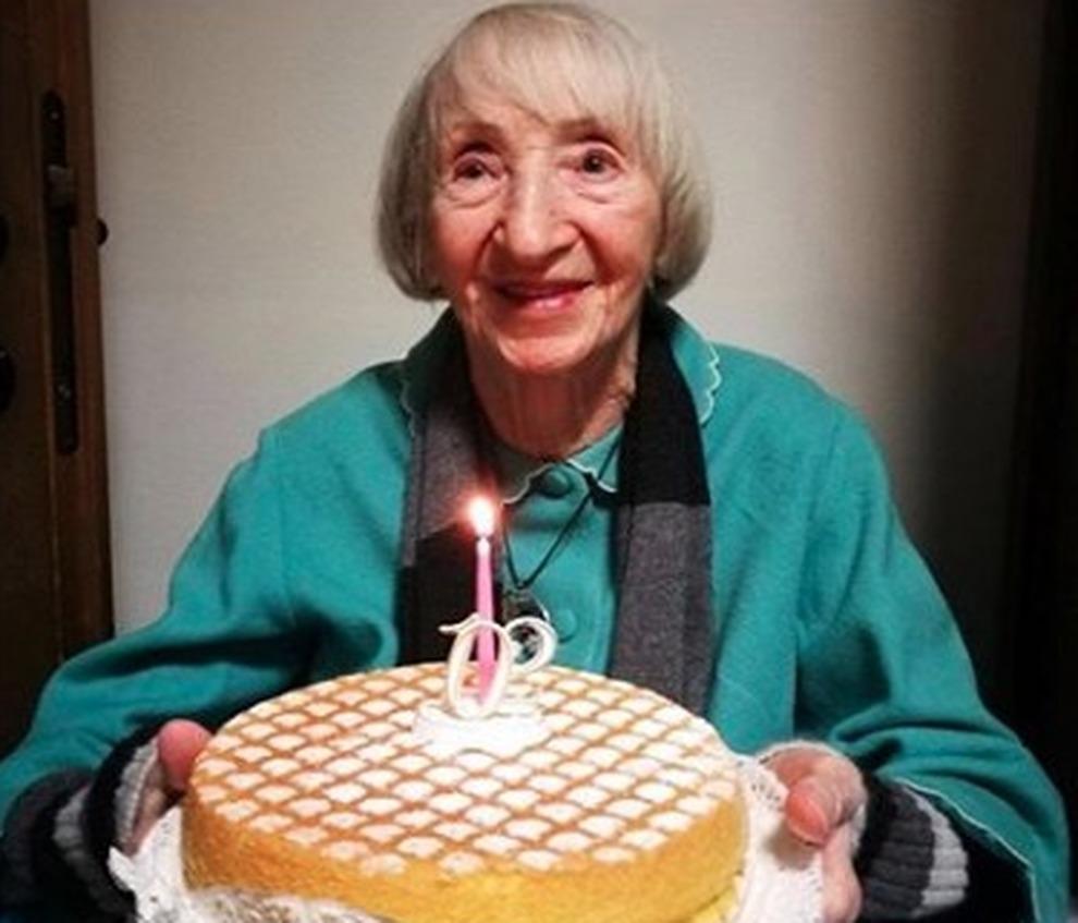 nonna lina, 102 anni