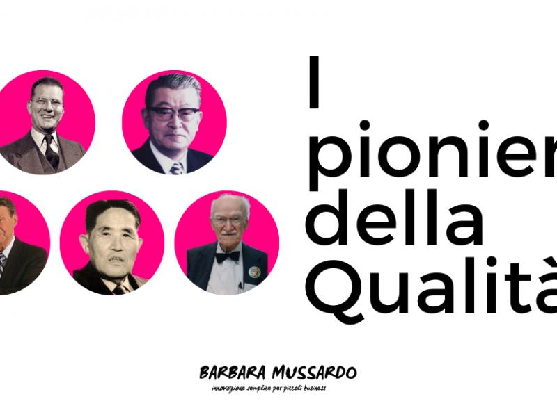 pionieri della qualità